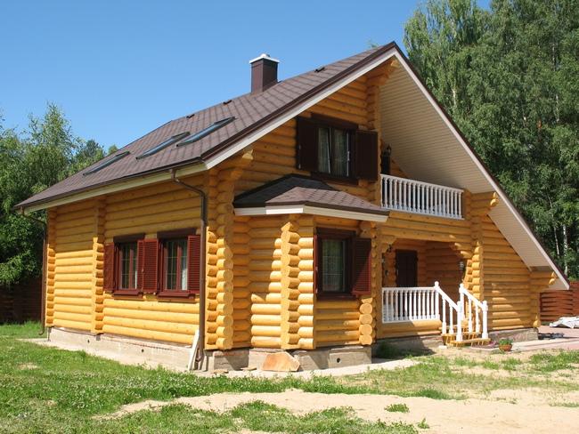 Деревянный дом под ключ.
