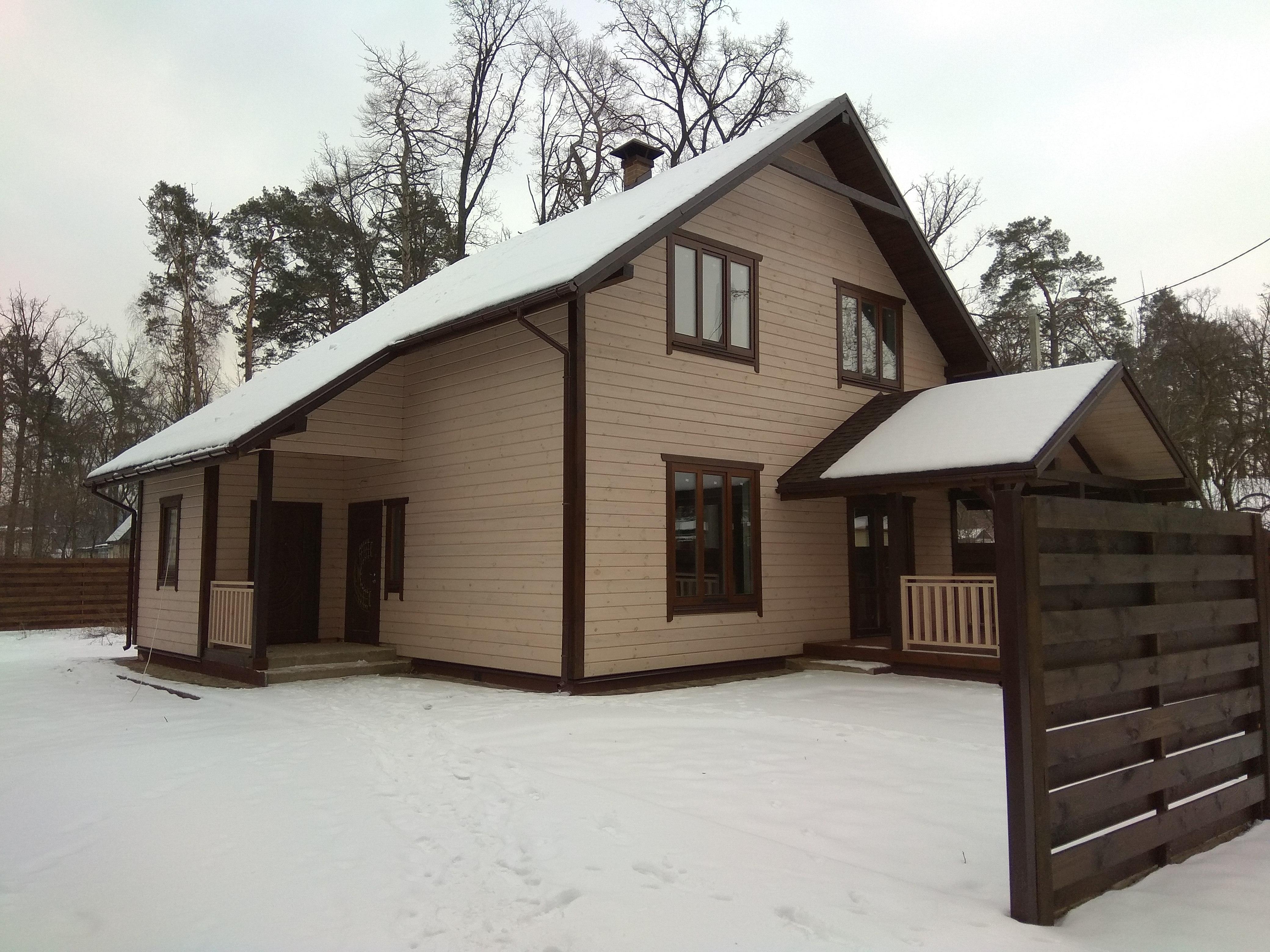 Продам экологически чистый каркасный деревянный дом в Ворзеле.
